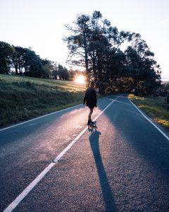 skateboard electrique route
