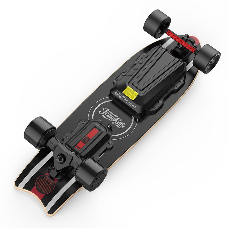 Skateboard electrique teamgee h20 mini batterie