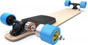 roue longboard électrique