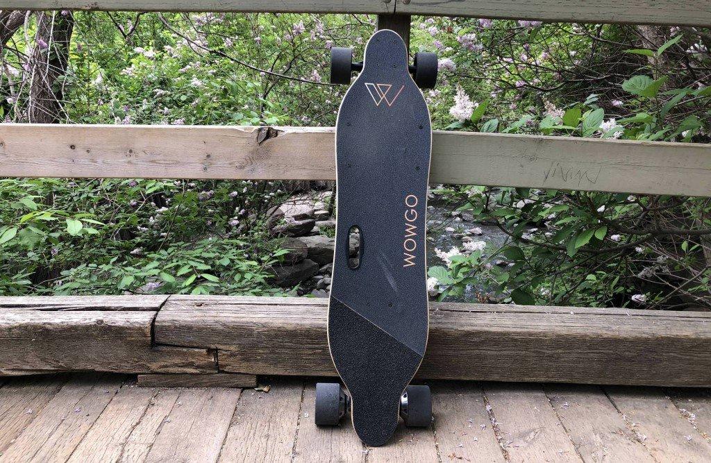 wowgo 2S longboard electrique nature