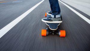 skate electrique poids