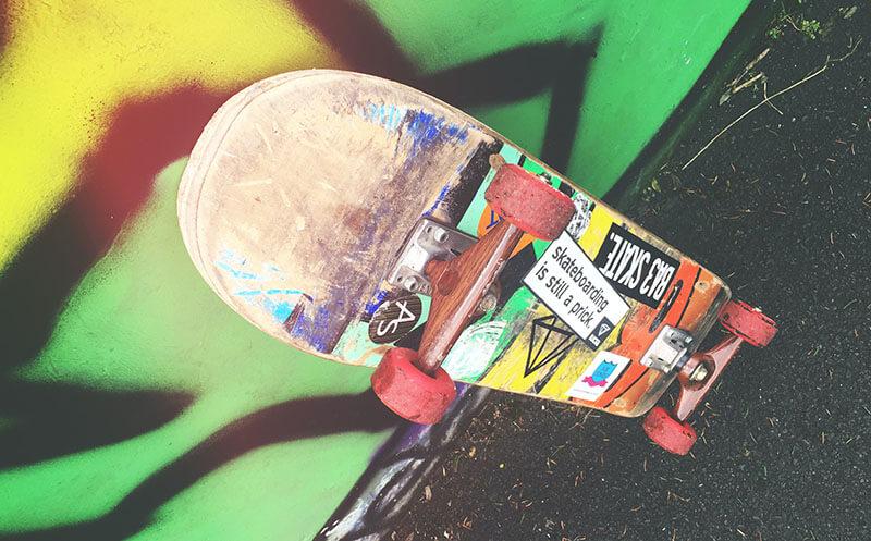 planche stickers skate
