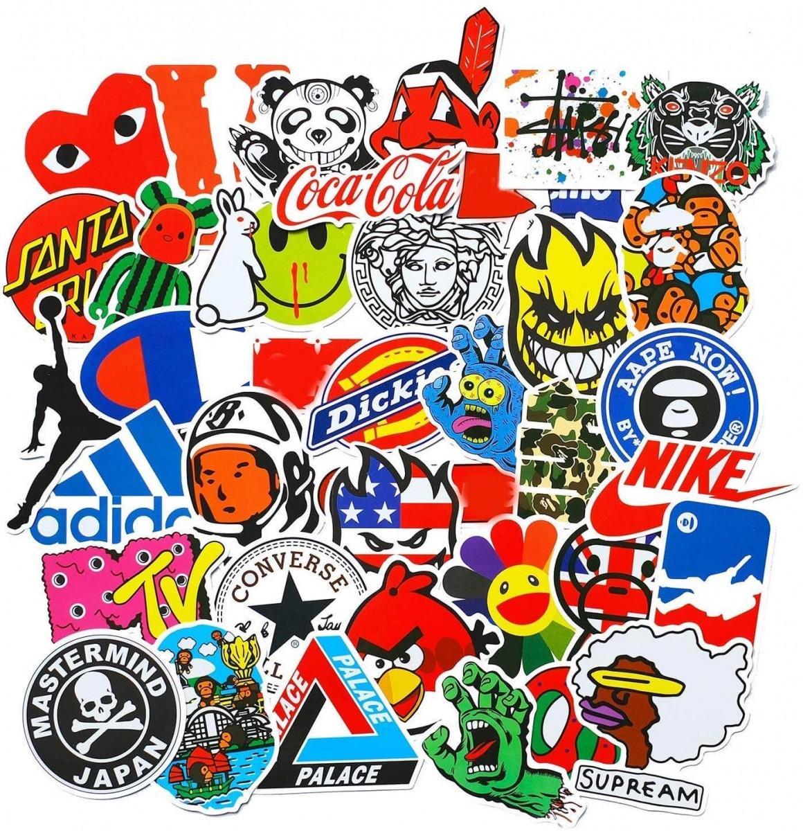 stickers skate de marque