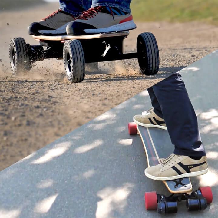 switcher HP par evo spirit tout en un skate électrique tout terrain et classique
