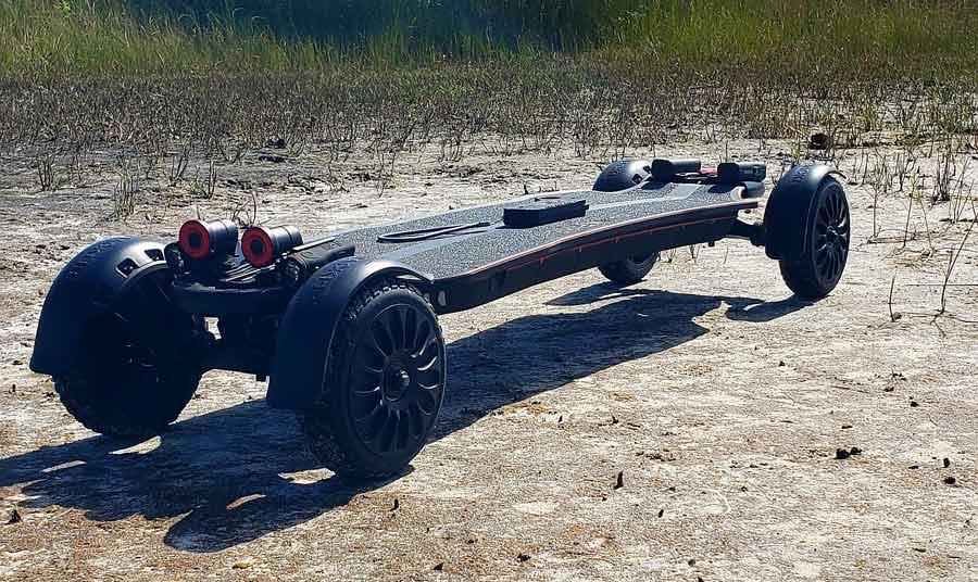 Backfire RangerX3, un modèle rapide et tout terrain